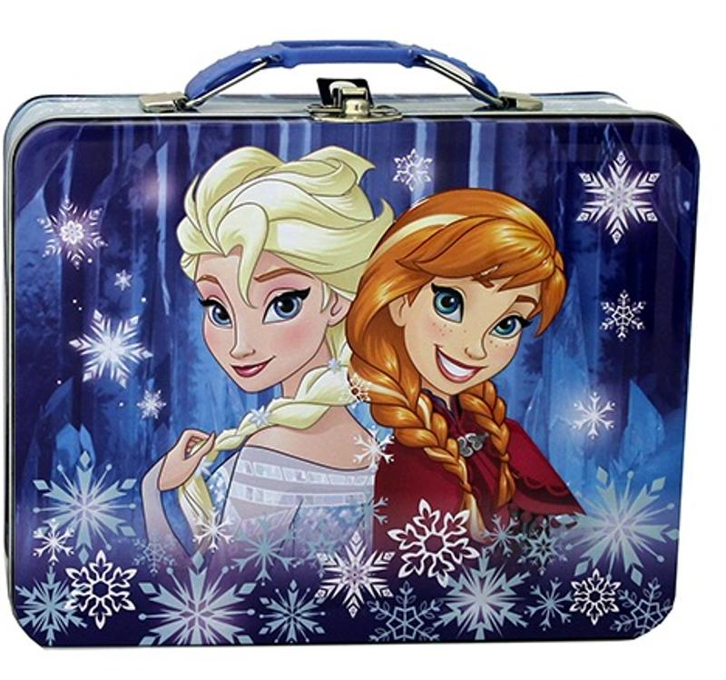 Frozen Sisters Square Carry All Tin Purse