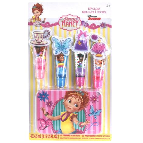 Fancy Nancy 4 Pack Lip Tube with Tin
