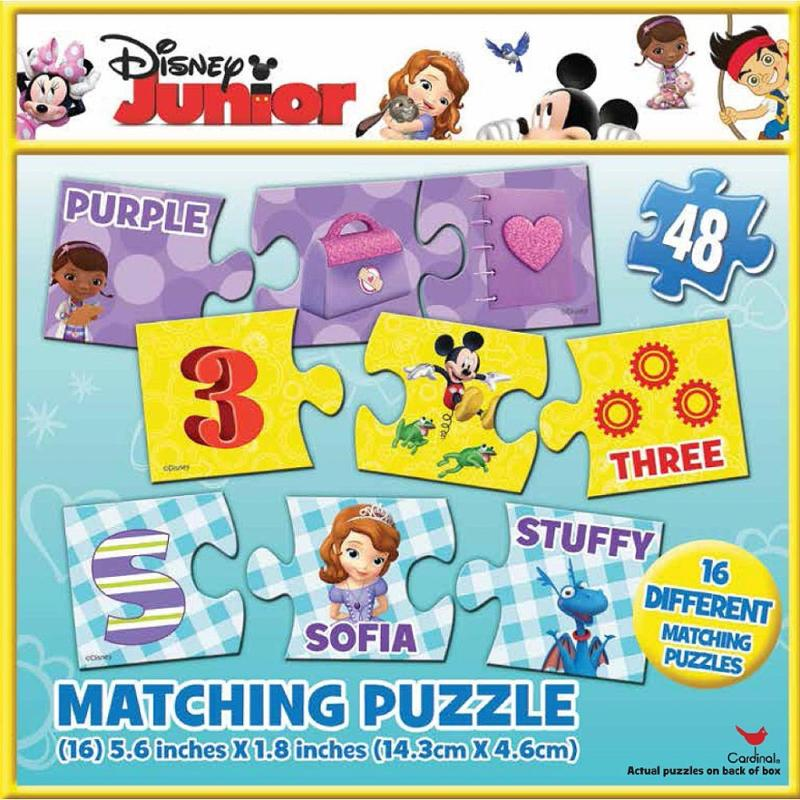 Disney Junior Matching Puzzles