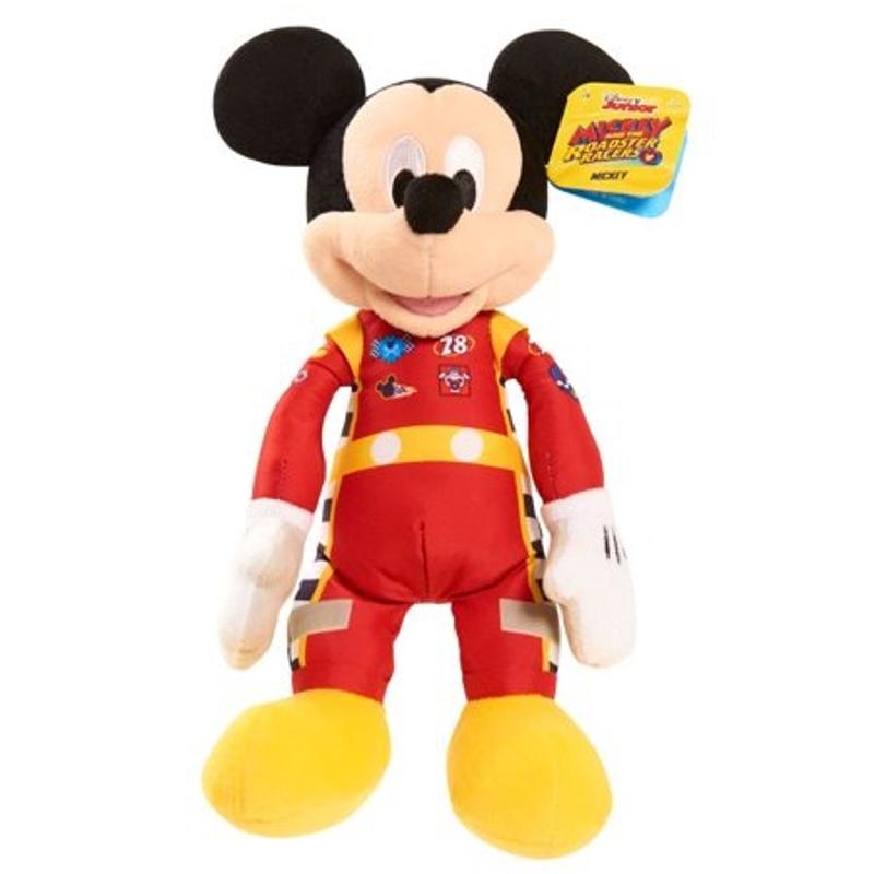 Disney Junior Mickey Mouse Roadster Crew Plush Mickey