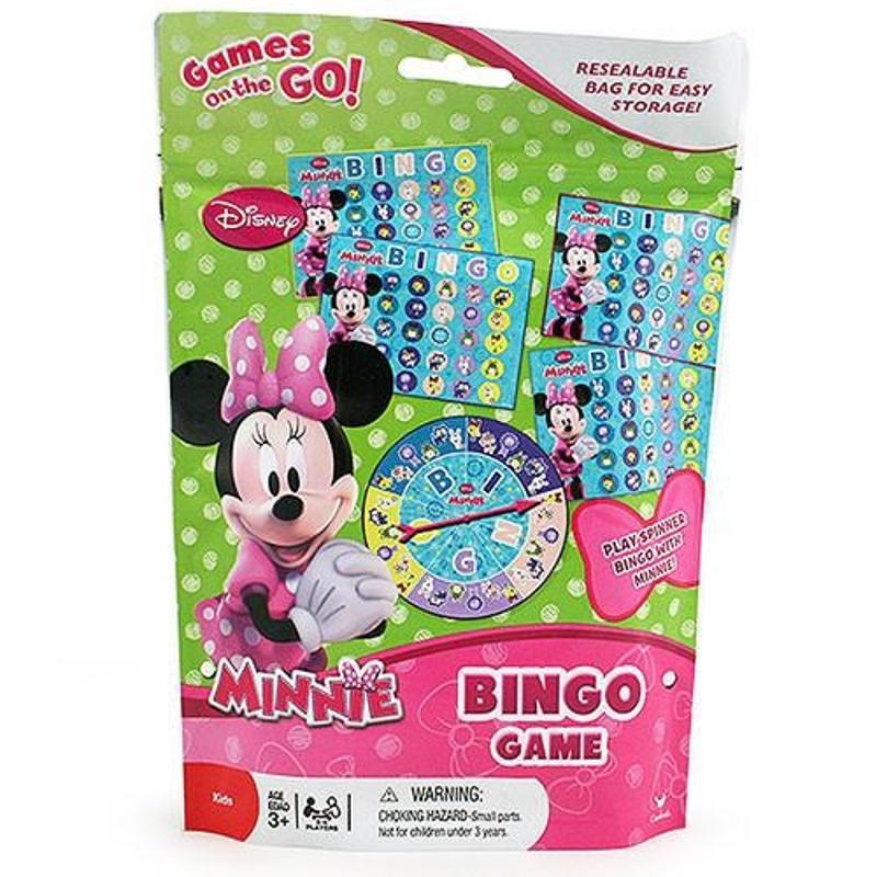 Minnie Mouse Bingo On the Go