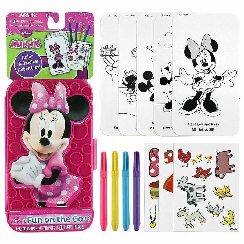 Disney Minnie Mouse Fun on the Go Set