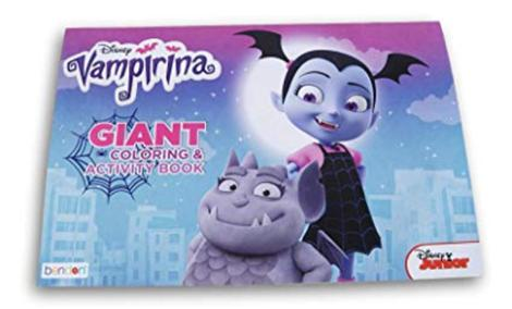 Disney Jr Vampirina 11x16 Giant Coloring & Activity Book