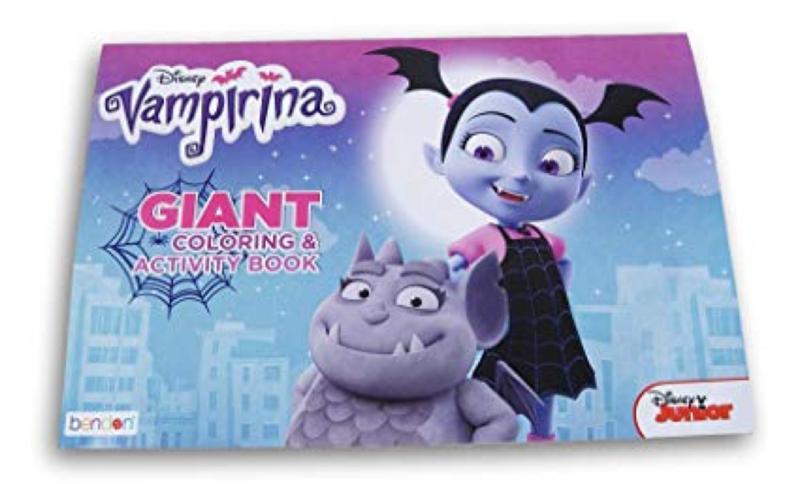 Disney Jr Vampirina 11x16 Giant Coloring & Activity Book