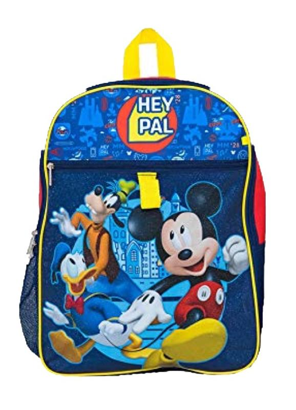Mickey Mouse 5 pc Backpack Set