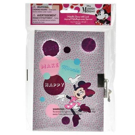 Minnie Diary with Lock
