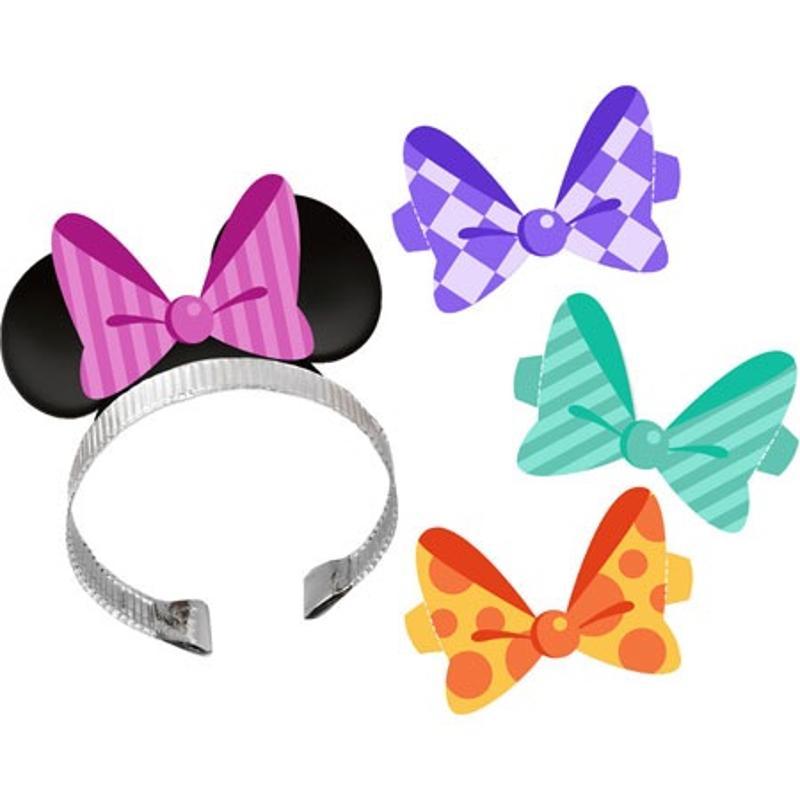 Minnie Ears 4 pk Headbands