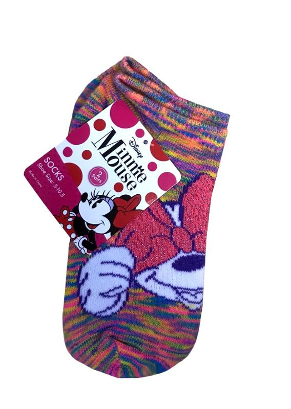 Minnie Mouse Toddler 2 Pack Socks
