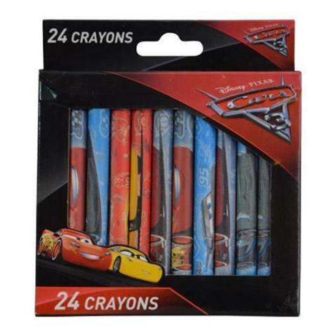 Disney Cars 3 24pc Crayons
