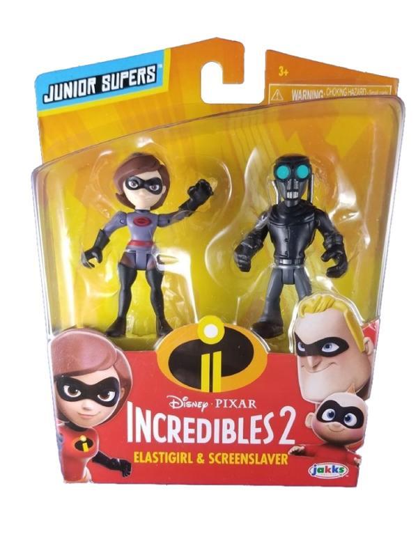 Incredibles 2 Elastigirl and Screenslaver