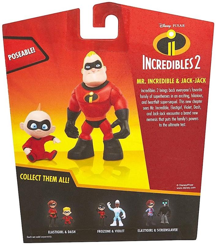 Incredibles Mr. Incredible and Jack Jack
