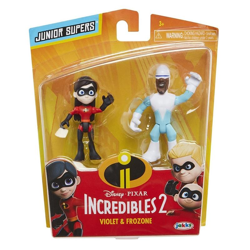 Disney The Incredibles 2 Violet and Frozone Action Figures