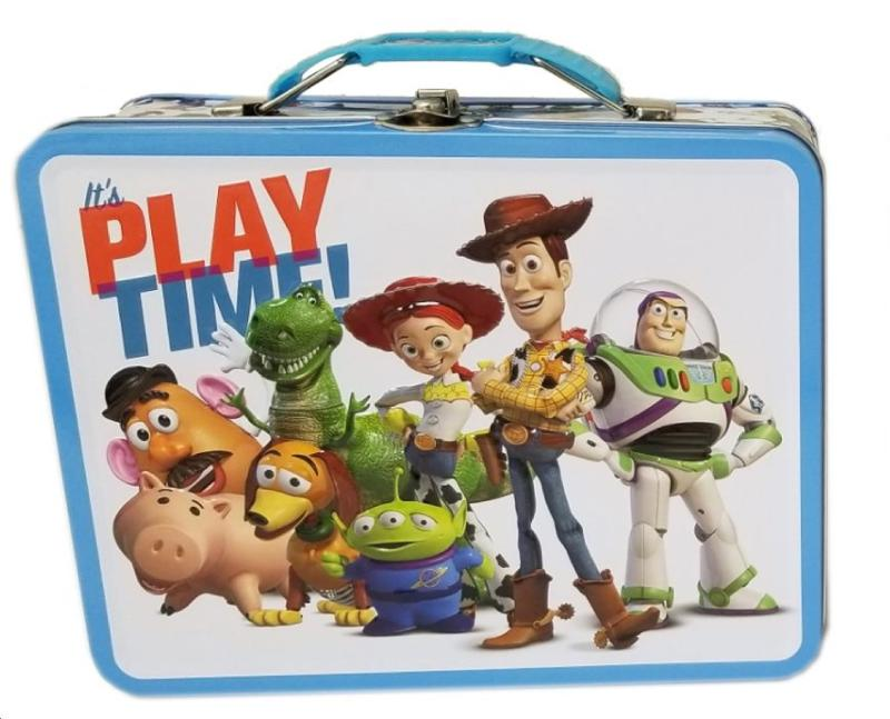 Toy Story Its Play Time! Large Carry All Tin Lunch Box