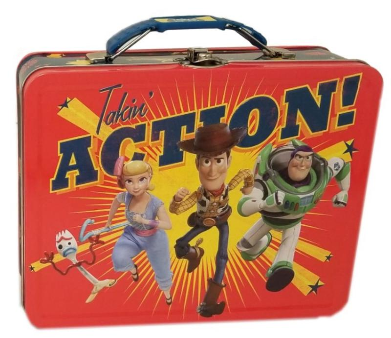 Toy Story Takin Action! Large Carry All Tin Lunch Box
