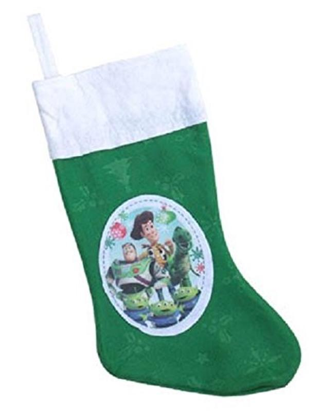 Toy Story Felt Christmas Stockings Green, 18 Inch