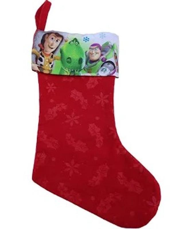 Toy Story 18 Inch Felt Christmas Stockings Red