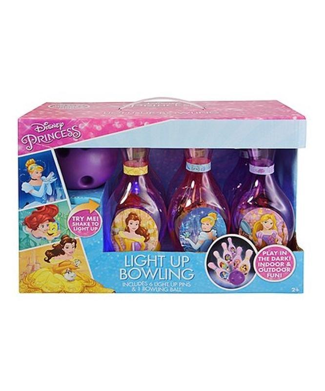 Princesses Light up Bowling Set in Box