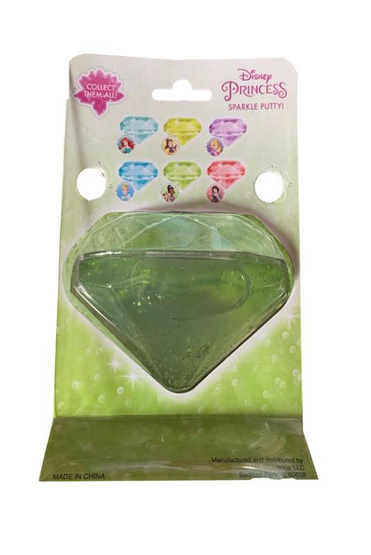 Disney Princess Sparkle Putty with Surprise Sticker Tiana