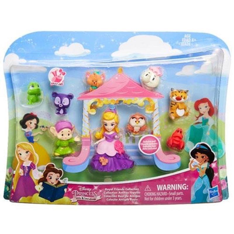 Disney Princess Little kingdom Royal Friends 9 PC Figure Set