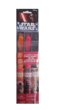 Star Wars Bubble Wand 3 Pack