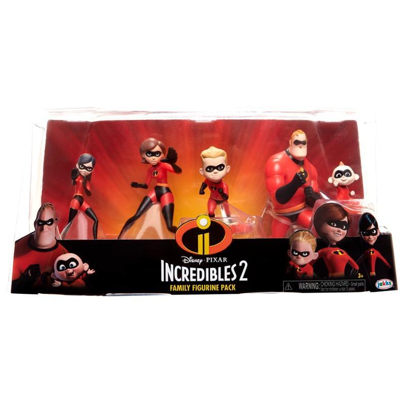 Disney Pixar Incredibles 2 Family Figurine Pack