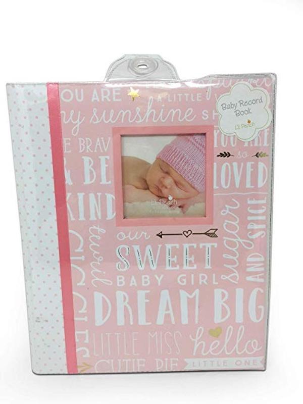 Dream Big Baby Girl Memory Record Book