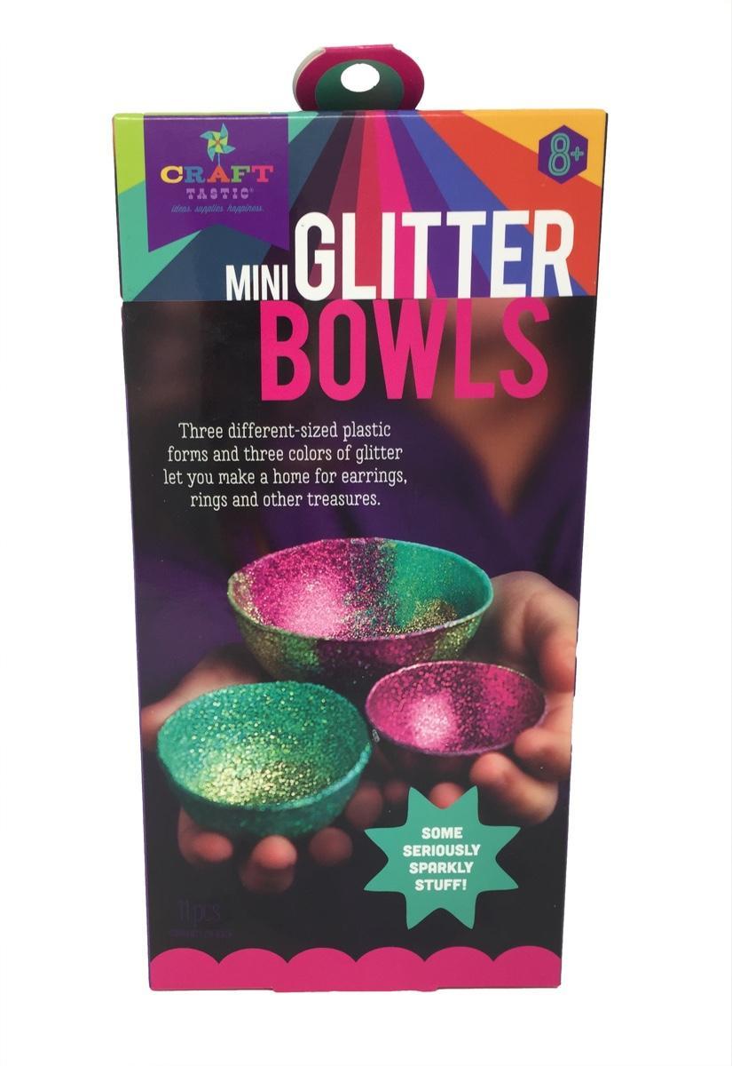 Mini Sparkly Glitter Bowls
