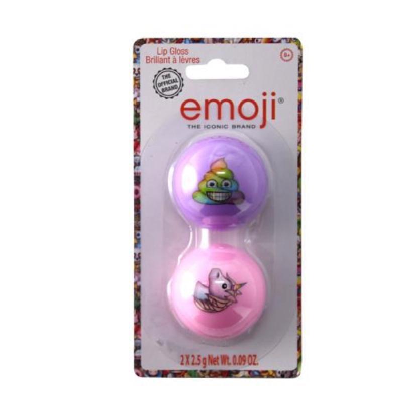 Emoji 2pk Round Lip Gloss