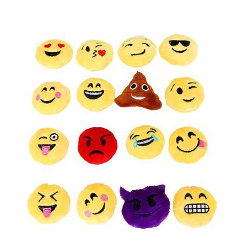 Emoji Large Plush Key Chain 12 Randomly Selected