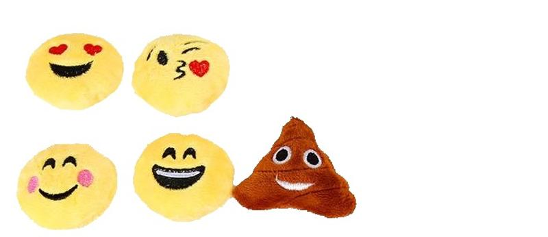 Emoji Small Key Chain 5 Pieces