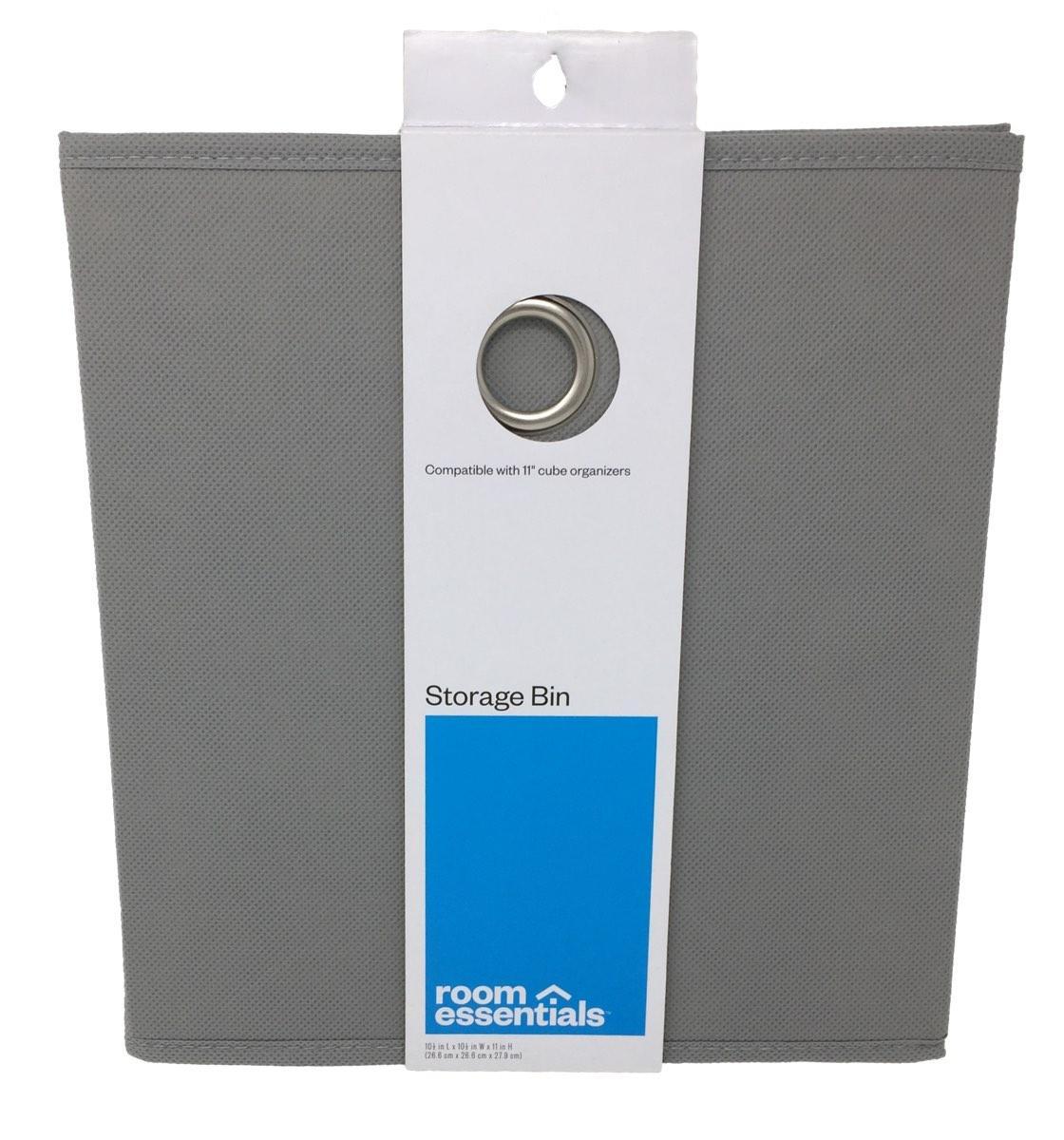 Fabric Storage Bin 11 Inch Cube Organizer