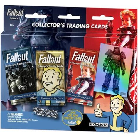 Fallout Trading Cards Series 1 - 3 Pack Blister Pack  Xbox One