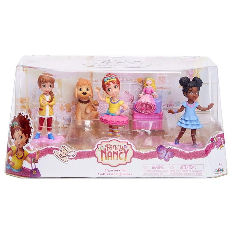 Fancy Nancy Figurine 5 Piece Set