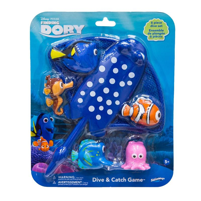 Finding Dory Mr. Rays Dive and Catch Game