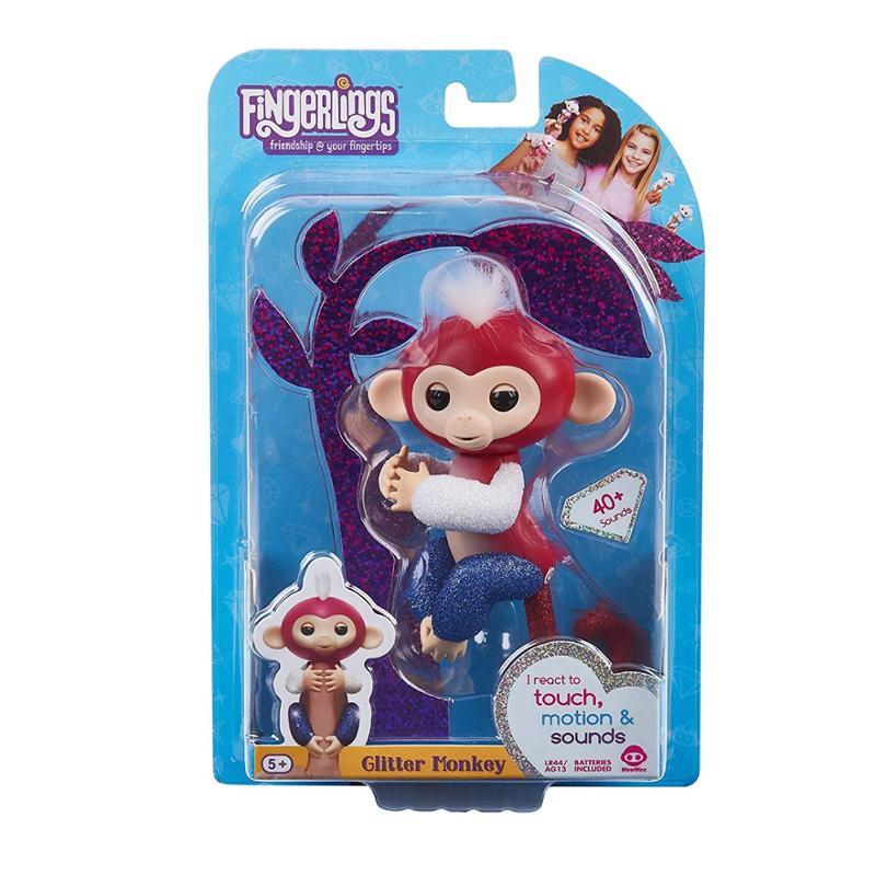 Fingerlings Liberty Glitter Monkey Exclusive