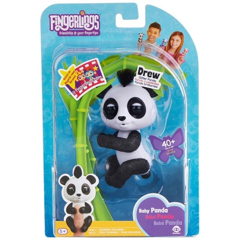 Fingerlings Glitter Panda Drew