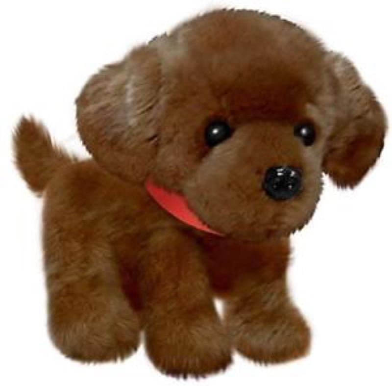 Wuffles Chocolate Lab Puppy