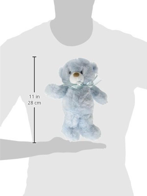 Baby Boy's Record Book, Blue Teddy Bear Cuddleups & His First Bible Gift Set