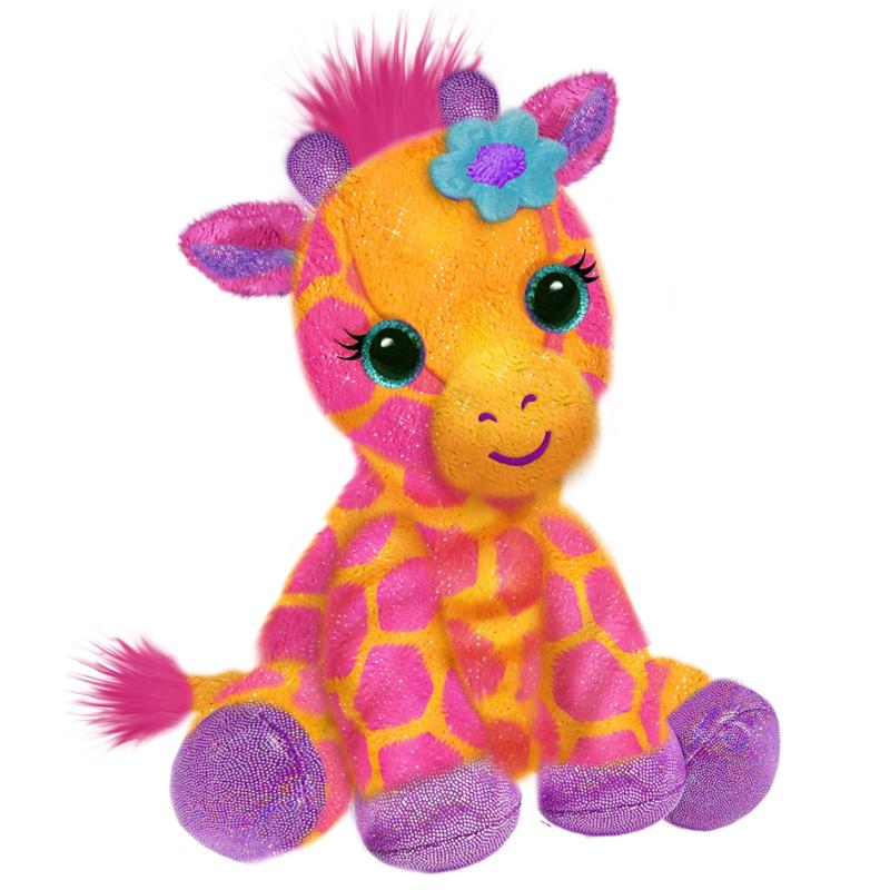 FantaZoo 10 Inch Georgie Giraffe Plush