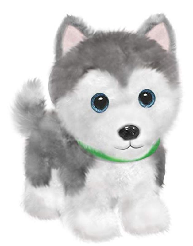 Wuffles Husky Puppy