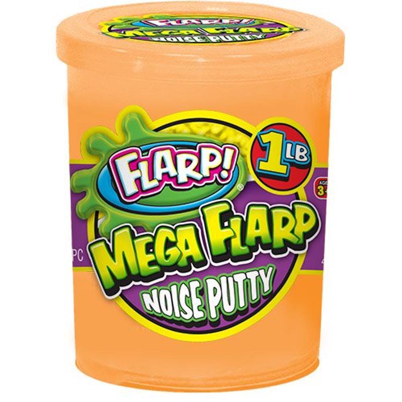 Flarp Mega Flarp Noise Putty Orange