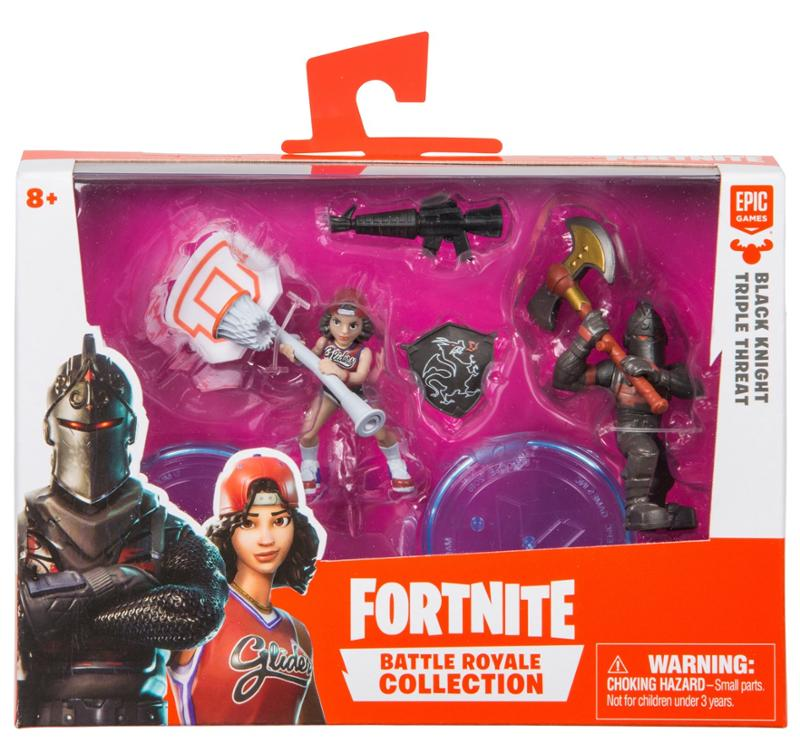 Fortnite Battle Royale Collection Black Night and Triple Threat