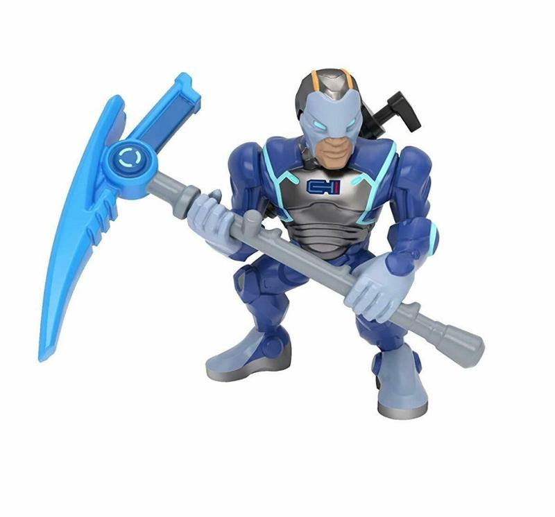 Fortnite Battle Royale Collection Sergeant Jonesy and Carbide