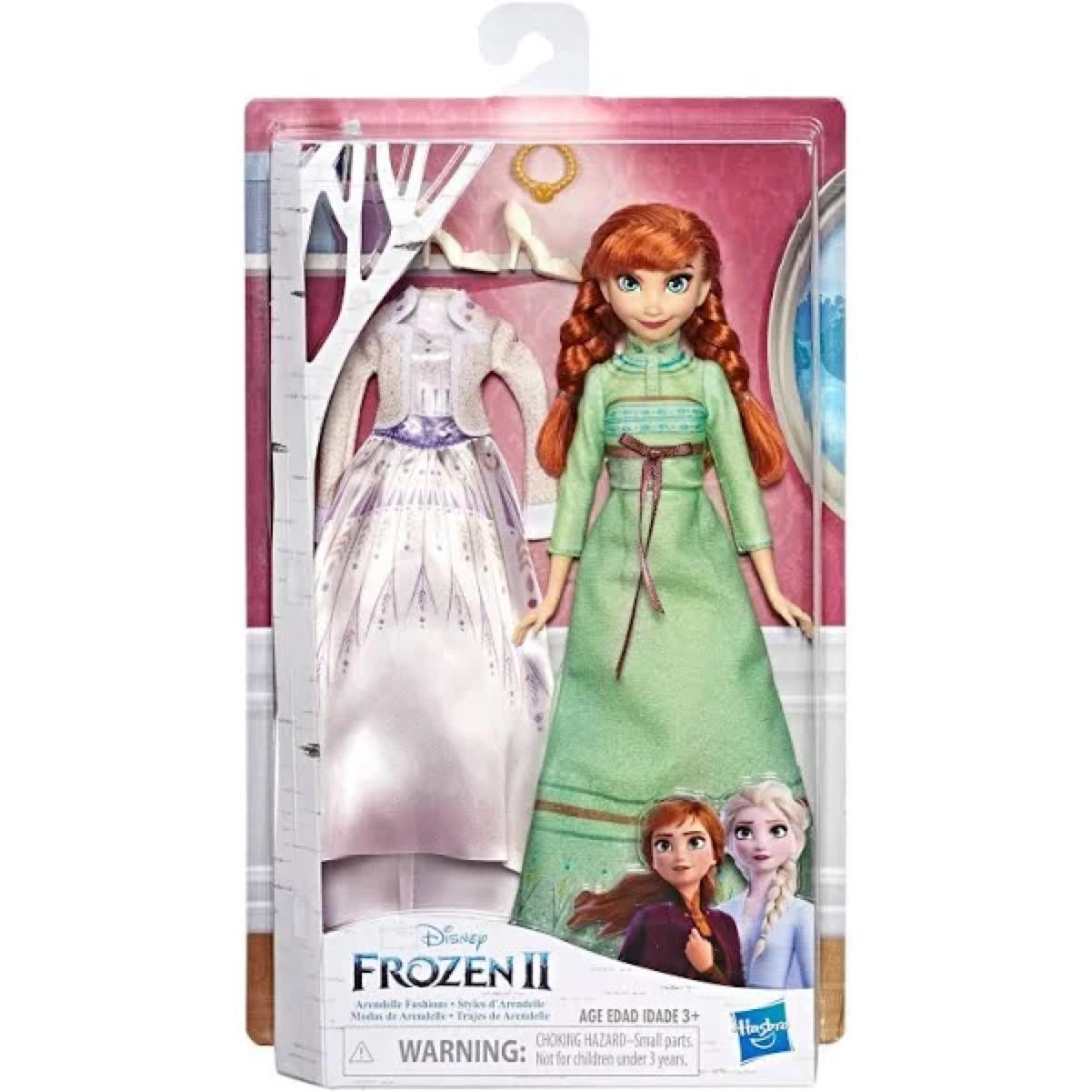 Frozen 2 Arendelle Anna Fashion Doll