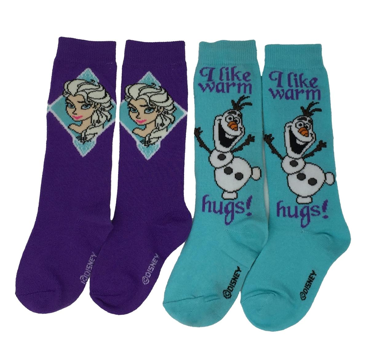 Frozen Knee High Socks 2 Pairs