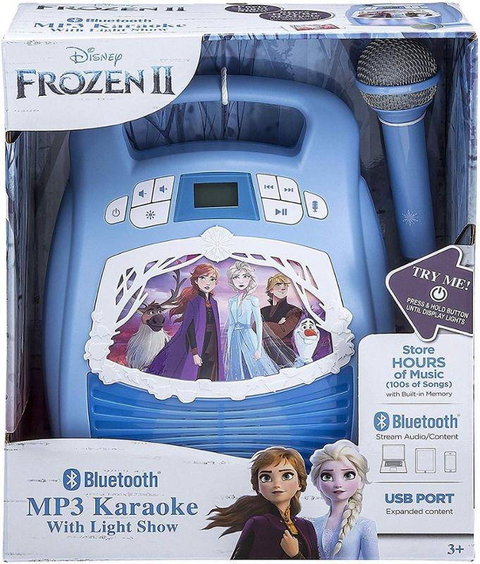 Frozez 2 MP3 Karaoke With Light Show