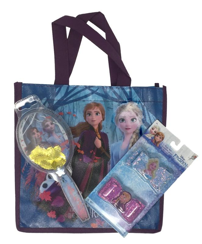Frozen Mini Tote Bag, Brush and Hair Bows