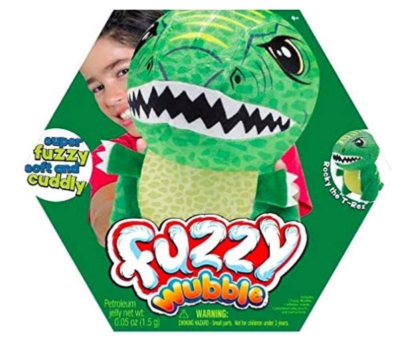 Fuzzy Wubble Rocky the T Rex