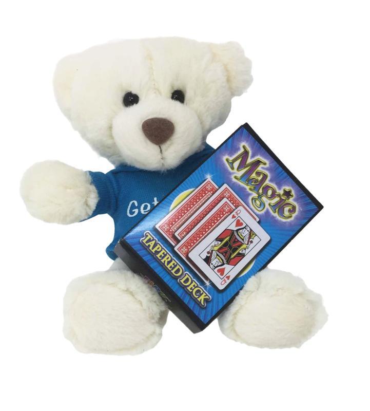 Get Well Soon Talking Blue Shirt Bear Gift Set