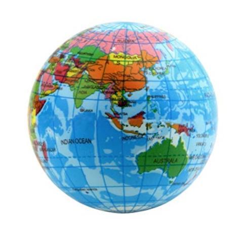 Globe Stress Ball 3 Inches